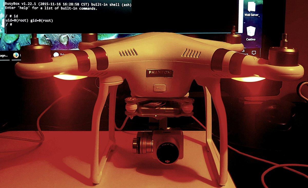 Hacking the DJI Phantom 3 - VoidSec